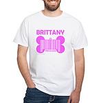BRITTANY PRICELESS White T-Shirt