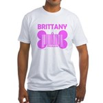 BRITTANY PRICELESS Fitted T-Shirt