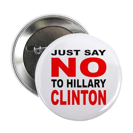 "Anti-Hillary Clinton 2.25"" Button (10 pack)"