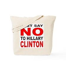 Anti-Hillary Clinton Tote Bag