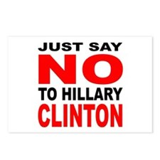 Anti-Hillary Clinton Postcards (Package of 8)