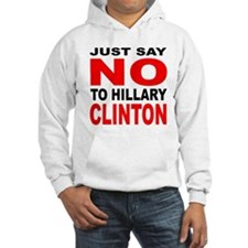 Anti-Hillary Clinton (Front) Hoodie