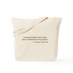 Just Words Tote Bag
