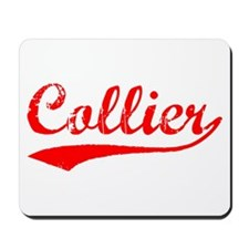 Vintage Collier (Red) Mousepad