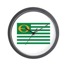 ECO FLAG Wall Clock