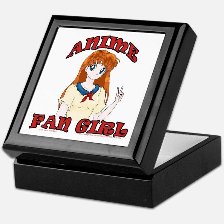 Anime Fan Girl Keepsake Box