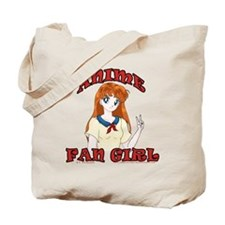 Anime Fan Girl Tote Bag
