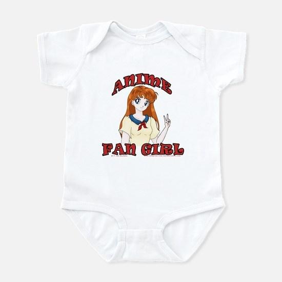 Anime Fan Girl Infant Bodysuit