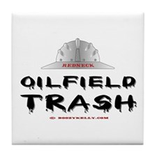 Redneck Oilfield Trash Tile Coaster
