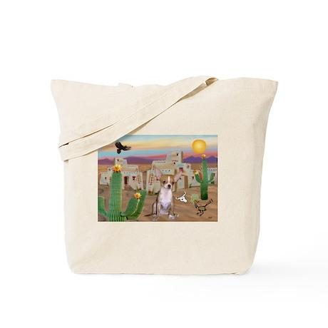 Cactus & Chihuahua Tote Bag