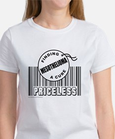 MESOTHELIOMA FINDING A CURE Women's T-Shirt