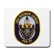 USS REUBEN JAMES Mousepad