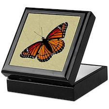Monarch Butterfly Keepsake Box