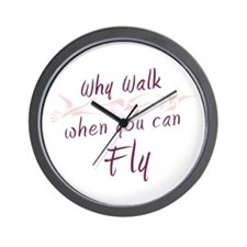 Why walk Wall Clock