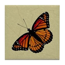 Monarch Butterfly Tile Coaster