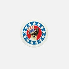 Vote for Toy Fox Terrier Mini Button