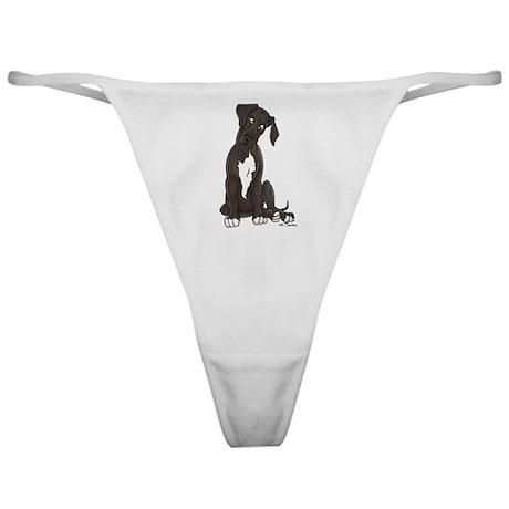 NBlkW Pup Tilt Classic Thong