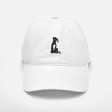 NBlkW Pup Tilt Baseball Baseball Cap