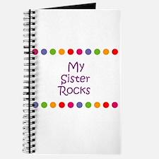 My Sister Rocks Journal
