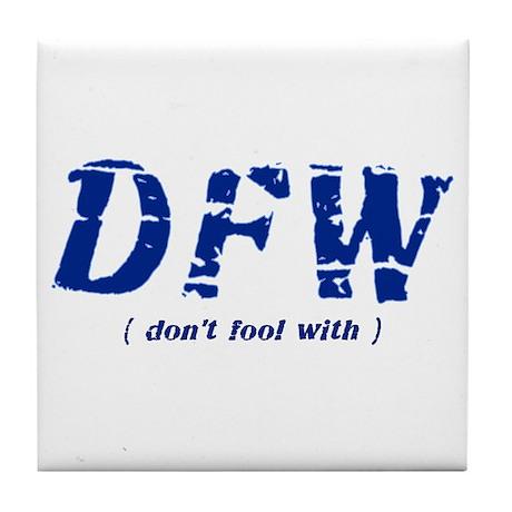DFW Tile Coaster