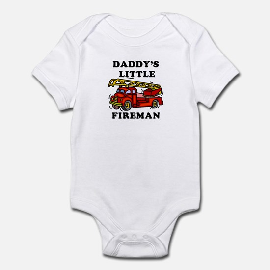 Daddy's Little Fireman - Infant Bodysuit