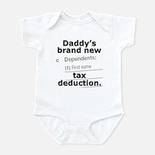 Daddy's brand new deduction - Infant Bodysuit