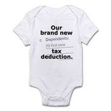 Brand new tax deduction - Infant Bodysuit