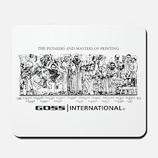 Mousepad-PIONEERS & MASTERS-GOSS-BLACK