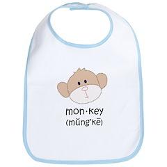 monkey t-shirts Bib