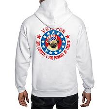 Vote for Pug Hoodie