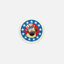 Vote for Pug Mini Button