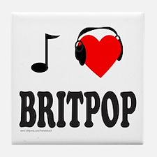 BRITPOP Tile Coaster