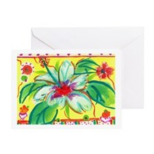 Cute Birthday hawaii Greeting Card