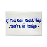 In Range Rectangle Magnet (10 pack)