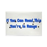 In Range Rectangle Magnet (100 pack)