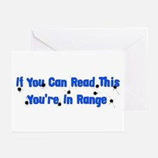In Range Greeting Cards (Pk of 20)