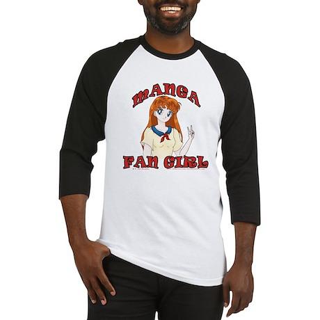 Manga Fan Girl Baseball Jersey