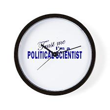 Trust Me I'm a Political Scie Wall Clock