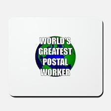 World's Greatest Postal Worke Mousepad