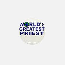 World's Greatest Priest Mini Button