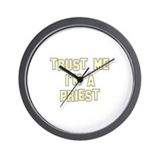 Trust Me I'm a Priest Wall Clock