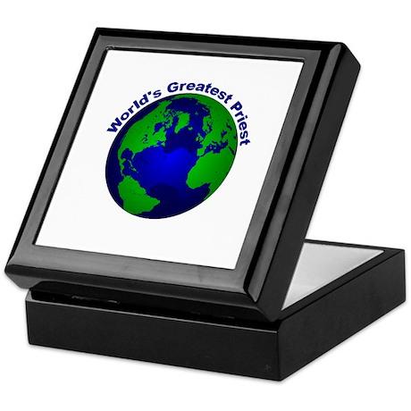 World's Greatest Priest Keepsake Box