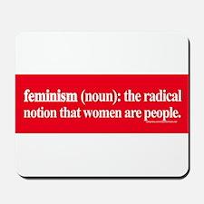 Feminism Defined Mousepad