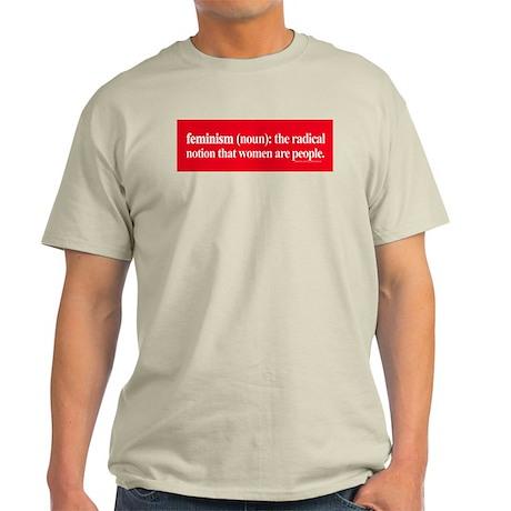 Feminism Defined Light T-Shirt