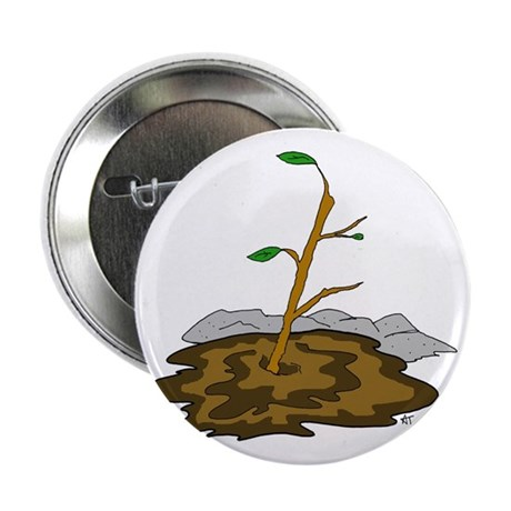 """Stick In The Mud 2.25"""" Button (10 pack)"""
