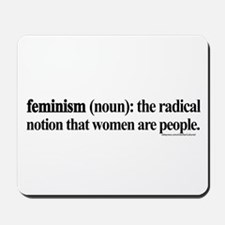 Feminism Defined Mousepad