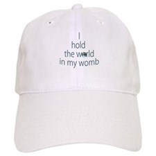 World in My Womb Baseball Cap