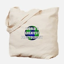 World's Greatest Proctologist Tote Bag