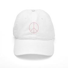 Atomic Peace Sign Baseball Cap