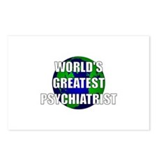 World's Greatest Psychiatrist Postcards (Package o